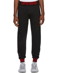 Opening Ceremony - Black C-elastic Logo Lounge Trousers - Lyst