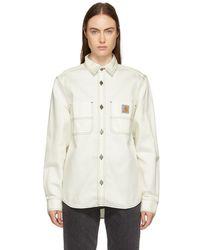 Carhartt WIP - White Chalk Shirt - Lyst
