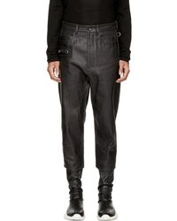 Rick Owens - Black Keyring Astaire Jeans - Lyst