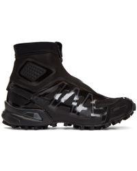 Yves Salomon - Black Snowcross Advanced Ltd Trainers - Lyst