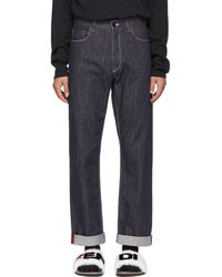 Fendi - Indigo Mania Jeans - Lyst