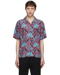 Prada - Multicolour Cherry Floral Shirt - Lyst