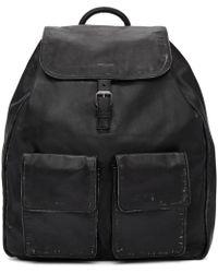 Saint Laurent - Black Nino Vintage Leather Backpack - Lyst
