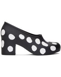Comme des Garçons - Black Melissa Edition Painted Dots Heels - Lyst