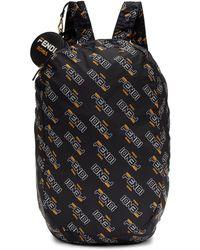 Lyst - Miu Miu Blue Nylon Matelassé Backpack in Blue bc4e826d15199