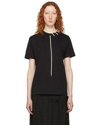Craig Green - Black Laced T-shirt - Lyst