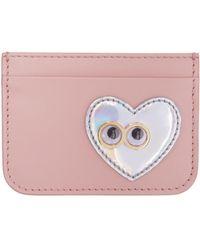 Sophie Hulme - Pink Heart & Eyes Rosebery Card Holder - Lyst
