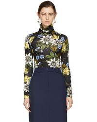 Erdem - Black Kelly Turtleneck - Lyst