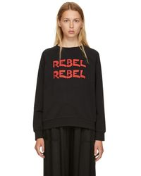 6397 - Black Rebel Rebel Graphic Sweatshirt - Lyst