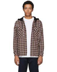 DIESEL - Multicolor S-bonney Hooded Shirt - Lyst