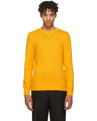 A.P.C. - Yellow Lagoon Sweater - Lyst