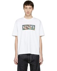 633986e9da KENZO La Collection Memento N°1 Eagle-print T-shirt in Gray for Men ...