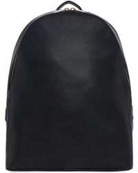 Paul Smith - Black Leather Backpack - Lyst