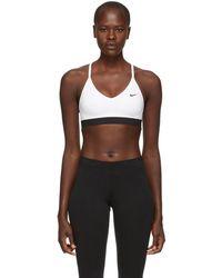 Nike - White Indy Bra - Lyst