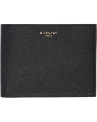 Givenchy | Black And Red Eros Textured Leather Wallet | Lyst