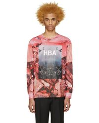 Hood By Air - Pink Overcome T-shirt - Lyst