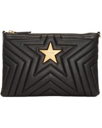 Stella McCartney - Black Quilted Pouch - Lyst
