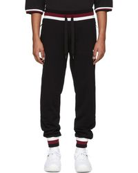 Dolce & Gabbana - Black Logo Joggers - Lyst