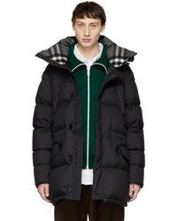 Burberry - Black Hartson Coat - Lyst