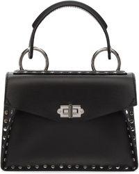 Proenza Schouler - Black Small Studded Hava Top Handle Bag - Lyst