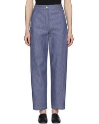 Lemaire - Blue Twisted Jeans - Lyst