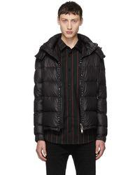 Valentino - Black Rockstud Untitled Down Jacket - Lyst