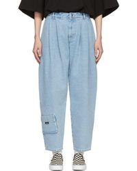 Gosha Rubchinskiy - Blue Carpenter Fit Jeans - Lyst