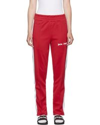 Palm Angels - Red Classic Track Trousers - Lyst