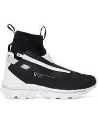 Boris Bidjan Saberi - Black And White Salomon Edition Nordic Hybrid Sneakers - Lyst