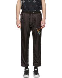 DIESEL - Black Bird P-fine Lounge Trousers - Lyst