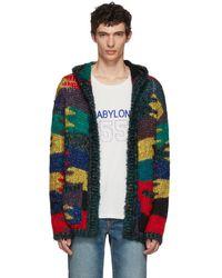 Saint Laurent - Multicolour Oversized Cardigan - Lyst