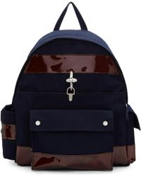 Raf Simons | Navy Eastpak Edition Functional Backpack | Lyst