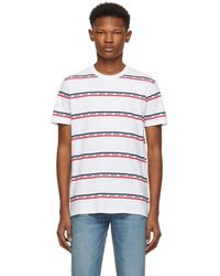 Levi's - Multicolor Striped Set In Mission T-shirt - Lyst