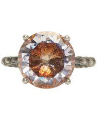 Bottega Veneta | Silver Cubic Zircon Ring | Lyst
