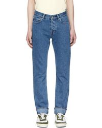 Our Legacy - Blue First Cut Jeans - Lyst
