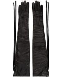 Ann Demeulemeester - Black Joris Long Gloves - Lyst