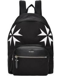 Neil Barrett - Black Military Star Backpack - Lyst