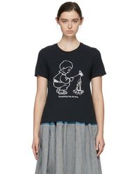 Undercover - Black Everything Has Its Time T-shirt - Lyst