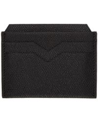 Valextra - Black 4cc Card Holder - Lyst