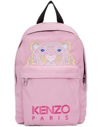 KENZO - Medium Tiger Canvas Backpack - Lyst