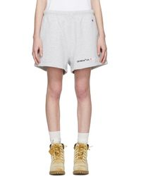 Off-White c/o Virgil Abloh - Grey Champion Reverse Weave Edition Lounge Shorts - Lyst