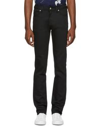 Naked & Famous - Black Power Stretch Denim - Lyst