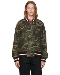 Nonnative - Multicolor Student Bomber Jacket - Lyst