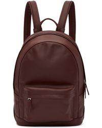 PB 0110 - Burgundy Mini Ca 7 Backpack - Lyst