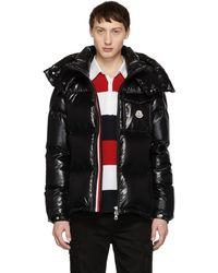 Moncler - Black Down Montbeliard Jacket - Lyst