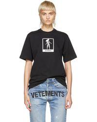 Vetements - Black Virgo Horoscope T-shirt - Lyst