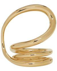 Charlotte Chesnais - Gold Round Trip Ring - Lyst