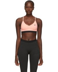 Nike - Pink Indy Bra - Lyst