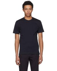 Comme des Garçons - Navy Basic T-shirt - Lyst