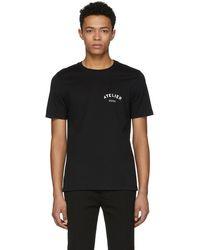 Maison Margiela - Black Atelier T-shirt - Lyst